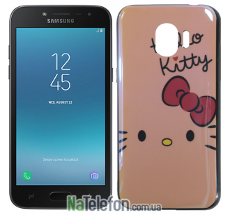 Чехол U-Like Picture series для Samsung J250 (J2 2018) Hello Kitty