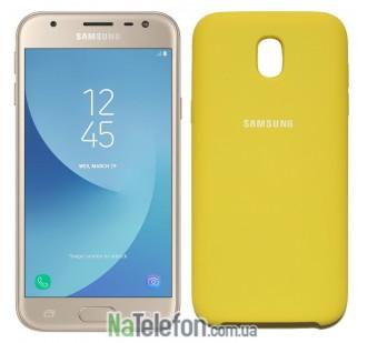Чехол Original Soft Case для Samsung J330 (J3-2017) Золотой