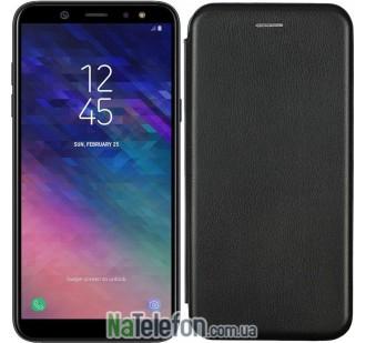 Чехол книжка U-Like Best для для Samsung Galaxy J4 Plus 2018 (J415) Black