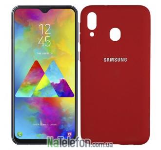 Чехол Original Soft Case для Samsung M205 Galaxy M20 Красный FULL