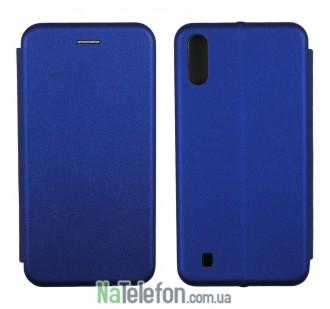 Чехол книжка U-Like Best для Samsung M105 Galaxy M10 Blue