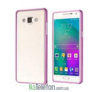Бампер Metalic Slim для Samsung A500 (A5) Pink
