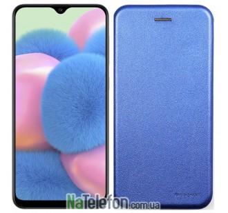 Чехол книжка U-Like Best для Samsung A307 Galaxy A30s 2019 Blue