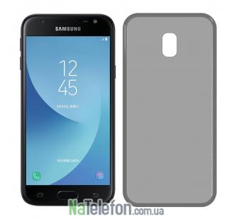Ультра тонкий силиконовый чехол 0.3 mm для Samsung J530/J5 2017 Black