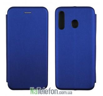 Чехол книжка U-Like Best для Samsung M305 Galaxy M30 Blue