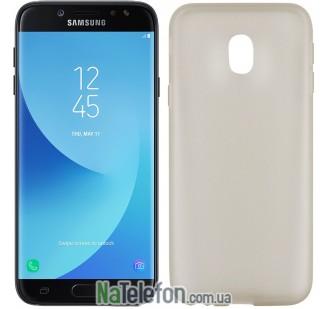 Ультра тонкий силиконовый чехол 0.3 mm для Samsung J330/J3 2017 Black