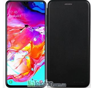 Чехол книжка U-Like Best для Samsung A705 Galaxy A70 2019 Black