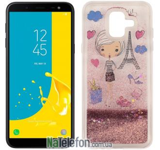 Чехол U-Like Aqua для Samsung J600 Lady