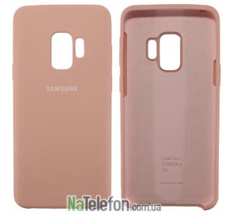Чехол Original Soft Case для Samsung G960 Galaxy S9 Розовый