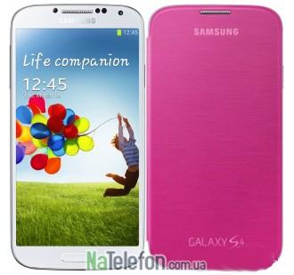 Чехол книжка Original для Samsung I9500 Pink