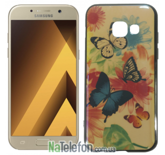 Чехол U-Like Picture series для Samsung A320 (A3 2017) Butterfly