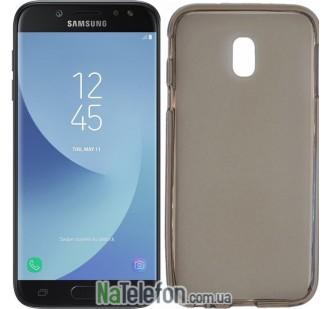 Ультра тонкий силиконовый чехол 0.3 mm для Samsung J730/J7 2017 Black