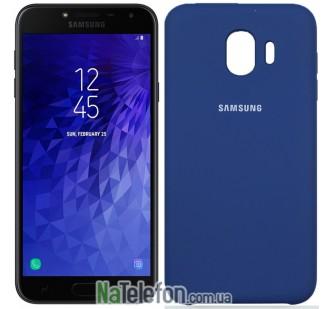 Чехол Original Soft Case для Samsung J4 2018 Темно Синий