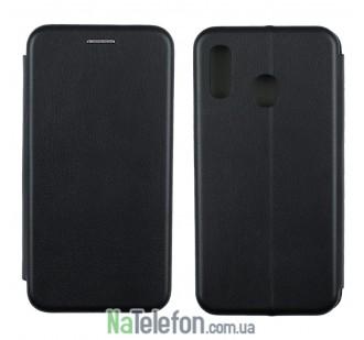 Чехол книжка U-Like Best для Samsung A405 Galaxy A40 2019 Black