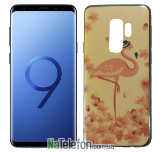 Чехол U-Like Picture series для Samsung G965 Galaxy S9 Plus Flamingo