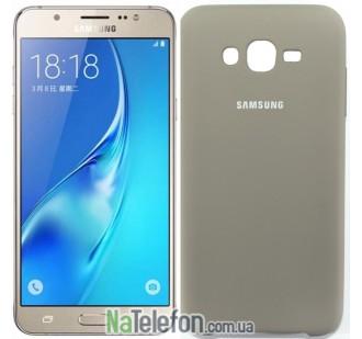 Чехол Original Soft Case для Samsung J700 (J7) Пепельно серый