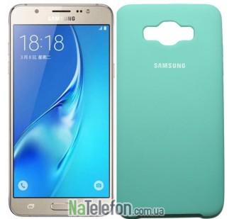 Чехол Original Soft Case для Samsung J710 (J7-2016) Голубой