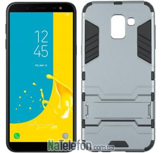 Чехол HONOR Hard Defence Series для Samsung J600 Galaxy J6 Space Gray