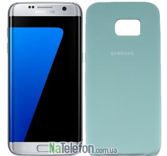 Чехол Original Soft Case для Samsung G930 Galaxy S7 Светло голубой