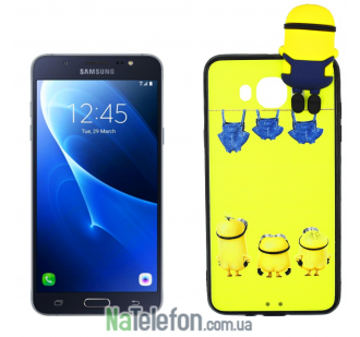 Чехол Cartoon Silicone Case для Samsung J7 (2016) J710 Minion