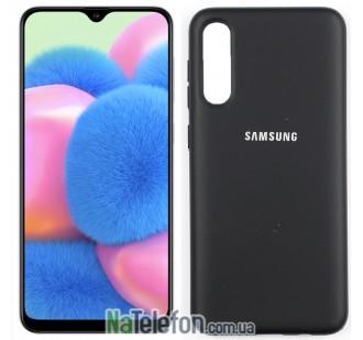 Чехол Original Soft Case для Samsung A30s 2019 Черный FULL