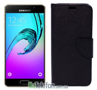Чехол книжка Goospery для Samsung A510 (A5-2016) Black