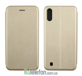 Чехол книжка U-Like Best для Samsung M105 Galaxy M10 Gold