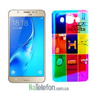 Силиконовый чехол Remax Light Series для Samsung J710 (J7-2016) Hermes Mark