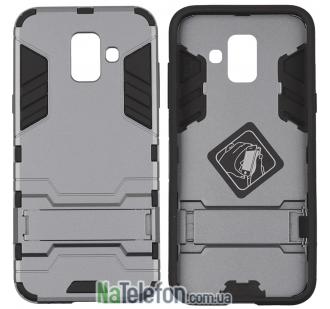 Ударопрочный чехол HONOR для Samsung A600 Galaxy A6 2018 Space Gray
