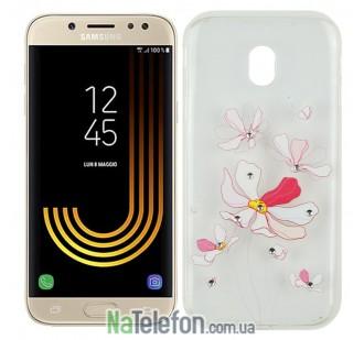 Чехол Lucent Diamond Case для Samsung J330 (J3-2017) Iris (Pink)