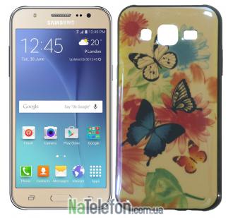 Чехол U-Like Picture series для Samsung J700 Butterfly