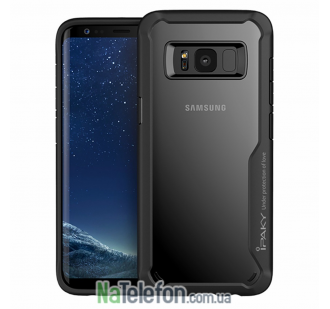 Накладка iPaky (OR) Survival TPU + Bumper for Samsung G955 Galaxy S8 Plus Black