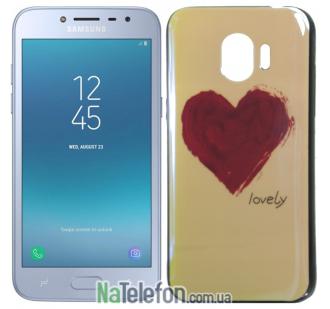 Чехол U-Like Picture series для Samsung J250 (J2 2018) Heart Blue