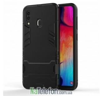 Чехол HONOR Hard Defence Series для Samsung A405 Galaxy A40 2019 Black