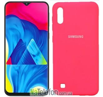 Чехол Original Soft Case для Samsung M105 Galaxy M10 Малиновый