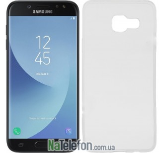 Силиконовый чехол Original Silicon Case Samsung A720 (A7-2017) White