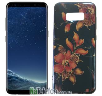 Чехол U-Like Picture series для Samsung G955 Galaxy S8 Plus Flowers