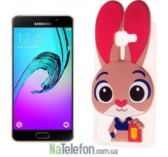 Силиконовый чехол Зверополис Rabbit Samsung A510 (A5-2016)