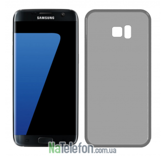 Ультра тонкий силиконовый чехол 0.3 mm для Samsung G930 Galaxy S7 Black