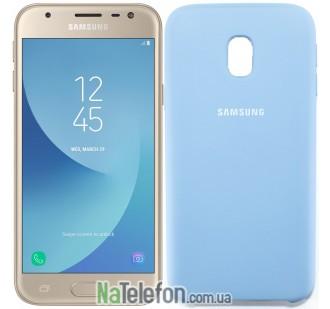 Чехол Original Soft Case для Samsung J330 (J3-2017) Голубой