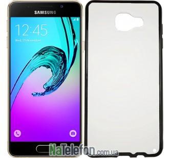 Чехол Electroplating TPU case для Samsung A510 black