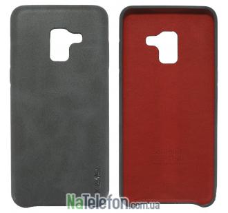 Чехол X-Level Vintage series для Samsung A530 Galaxy A8 (2018) Black