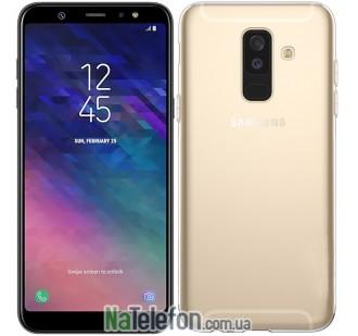 Ультра тонкий силиконовый чехол 0.3 mm для Samsung A605 Galaxy A6 Plus 2018 White
