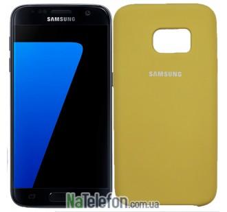 Чехол Original Soft Case для Samsung G930 Galaxy S7 Золотой