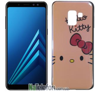 Чехол U-Like Picture series для Samsung A530 (A8 2018) Hello Kitty