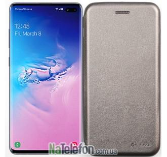 Чехол книжка U-Like Best для Samsung G975 Galaxy S10 Plus Grey