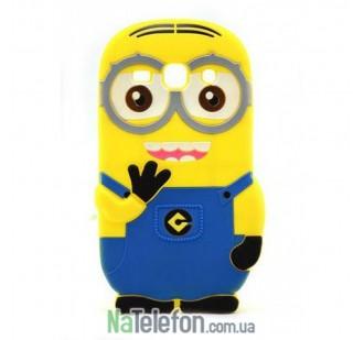 Чехол I love Minion для Samsung A3