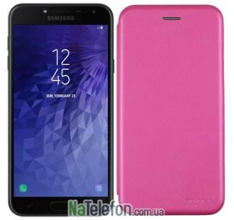 Чехол книжка U-Like Best для Samsung Galaxy J4 Plus 2018 (J415) Pink