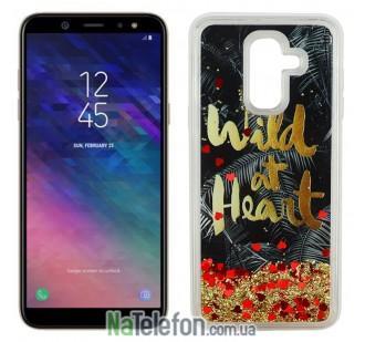 Чехол U-Like Aqua для Samsung A6 Plus 2018 (A605) Wild