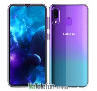 Ультра тонкий силиконовый чехол 0.3 mm для Samsung A305 Galaxy A30 2019 White